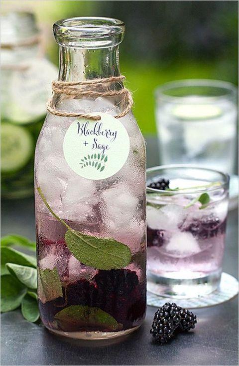 black berry and sage summer lemonade is cool idea
