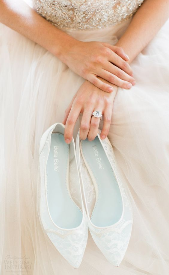 ethereal lace flats are comfy for wearing and look very sweet