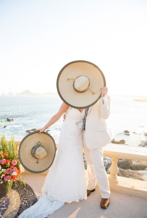 sombreros for taking photos or as guest favors