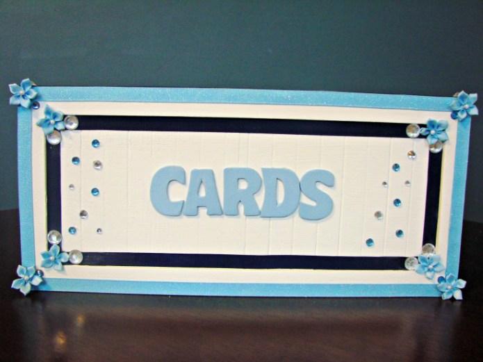 DIY wedding card box made of wood (via www.sincerelymindy.com)