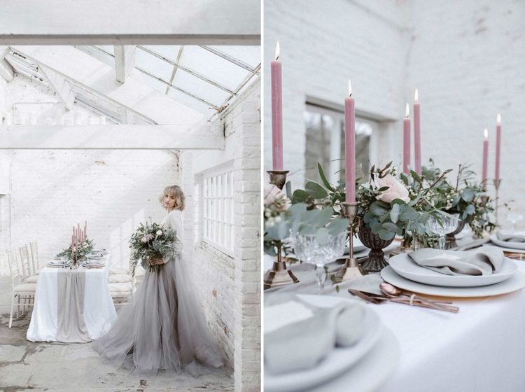 Subtle And Sophitsticated Pastel Wedding Shoot