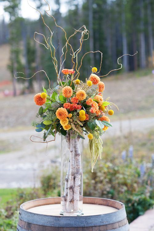 Sweet birch decor ideas for rustic weddings