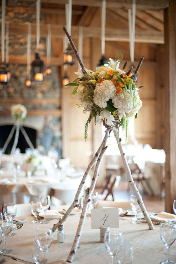 30 Sweet Birch Decor Ideas For Rustic Weddings Weddingomania