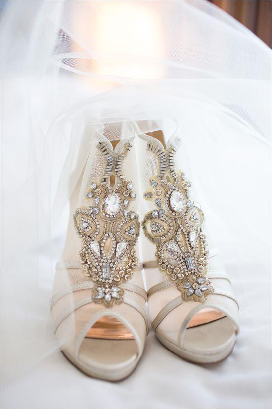 53e48d806b0 35 Wedding Booties Ideas To Swoon Over - Weddingomania