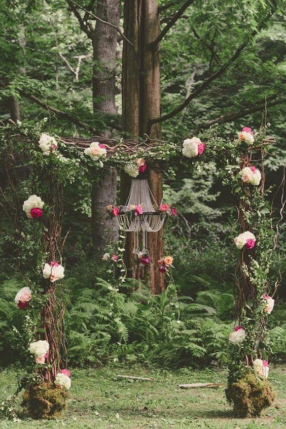 lush floral decor