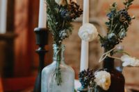 wildflower wedding decor idea