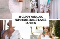 28 comfy and chic summer bridal shower outfits cover