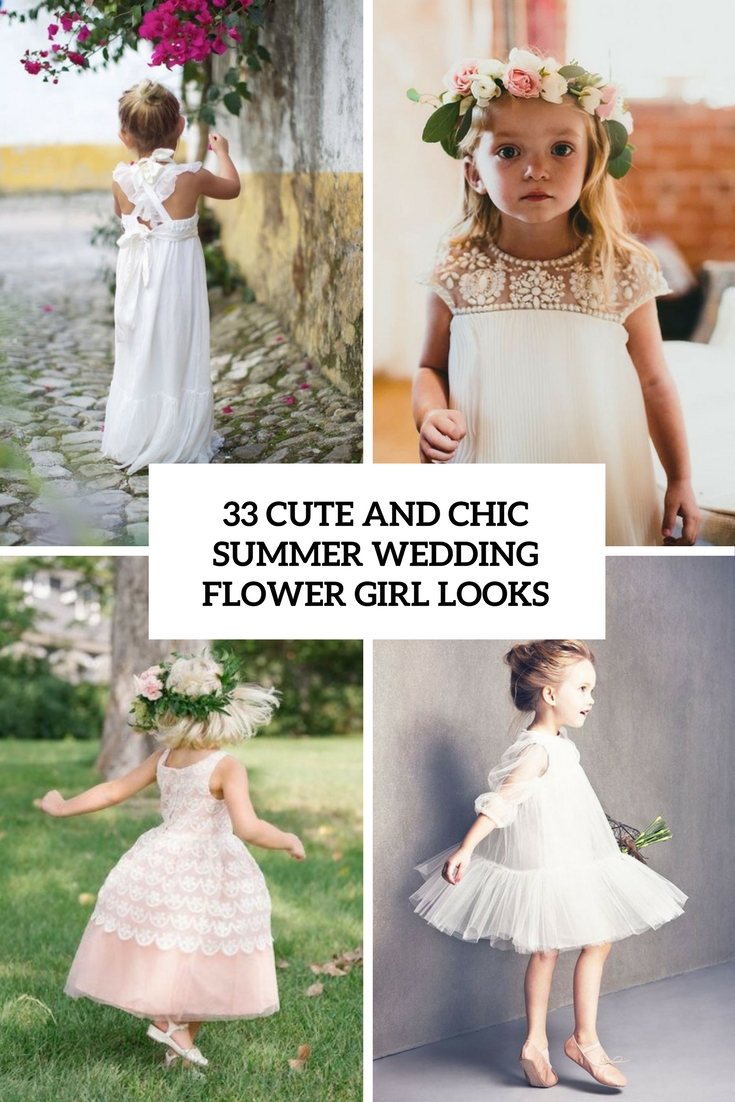 Flower girl outfits archives weddingomania 33 chic and cute summer wedding flower girl looks mightylinksfo