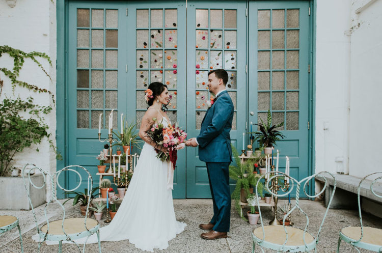 Colorful Spanish-Inspired Wedding Shoot