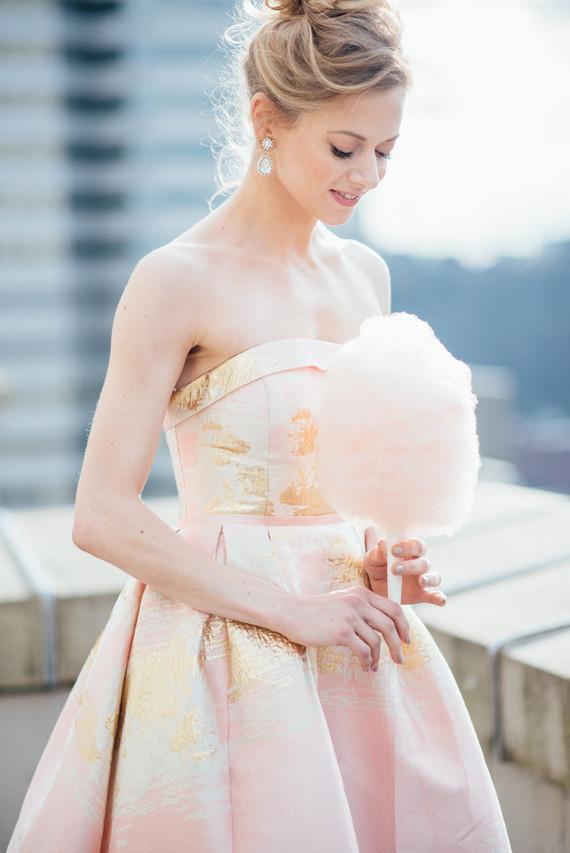 Refined La Vie En Rosé Wedding Shoot