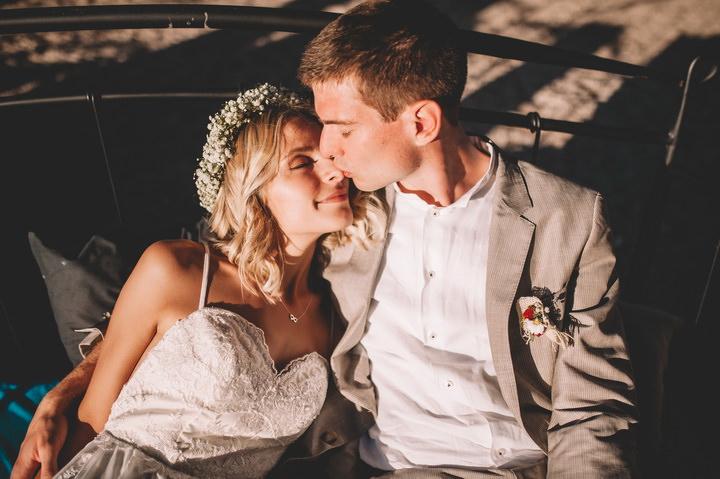 Boho Outdoor Croatia Wedding With Lots Of DIY