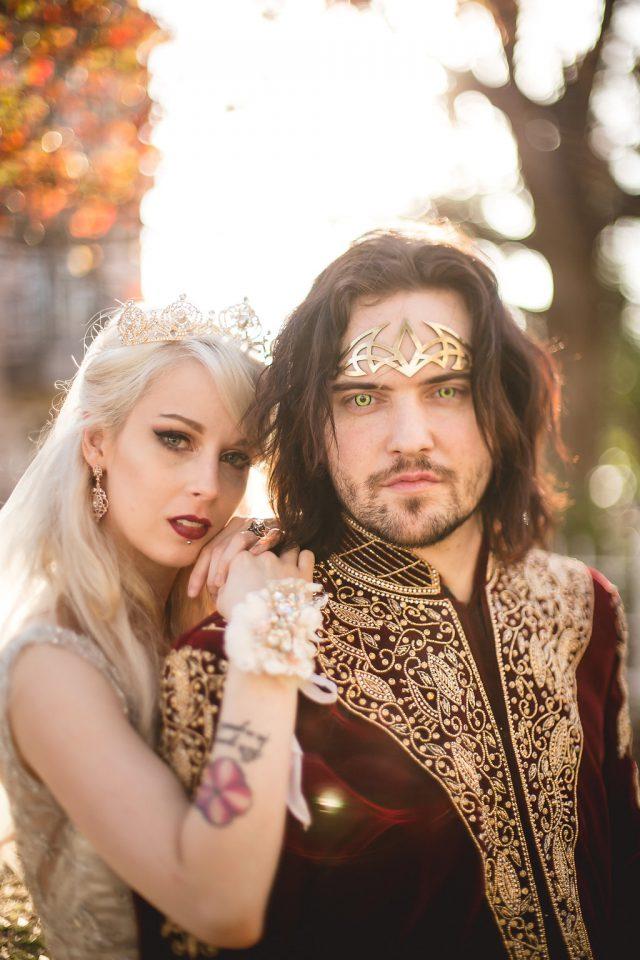 Jaw-Dropping Vampire Royalty Wedding