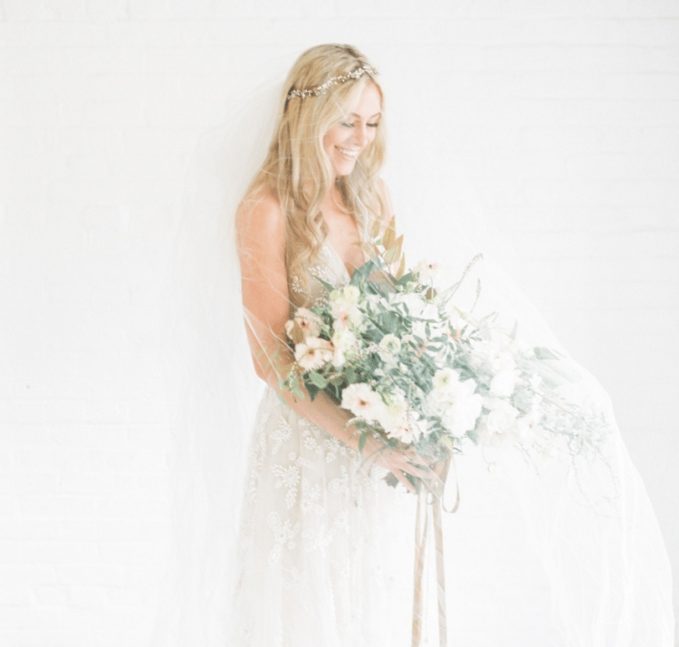This stunning bridal shoot was inspired by modern romance and boho beauty, and it turned out natural and very soft
