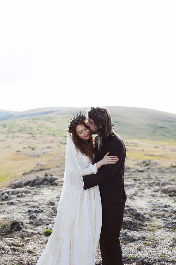This unique wedding took place in Aspen but was inspired by the Scottish Highlands