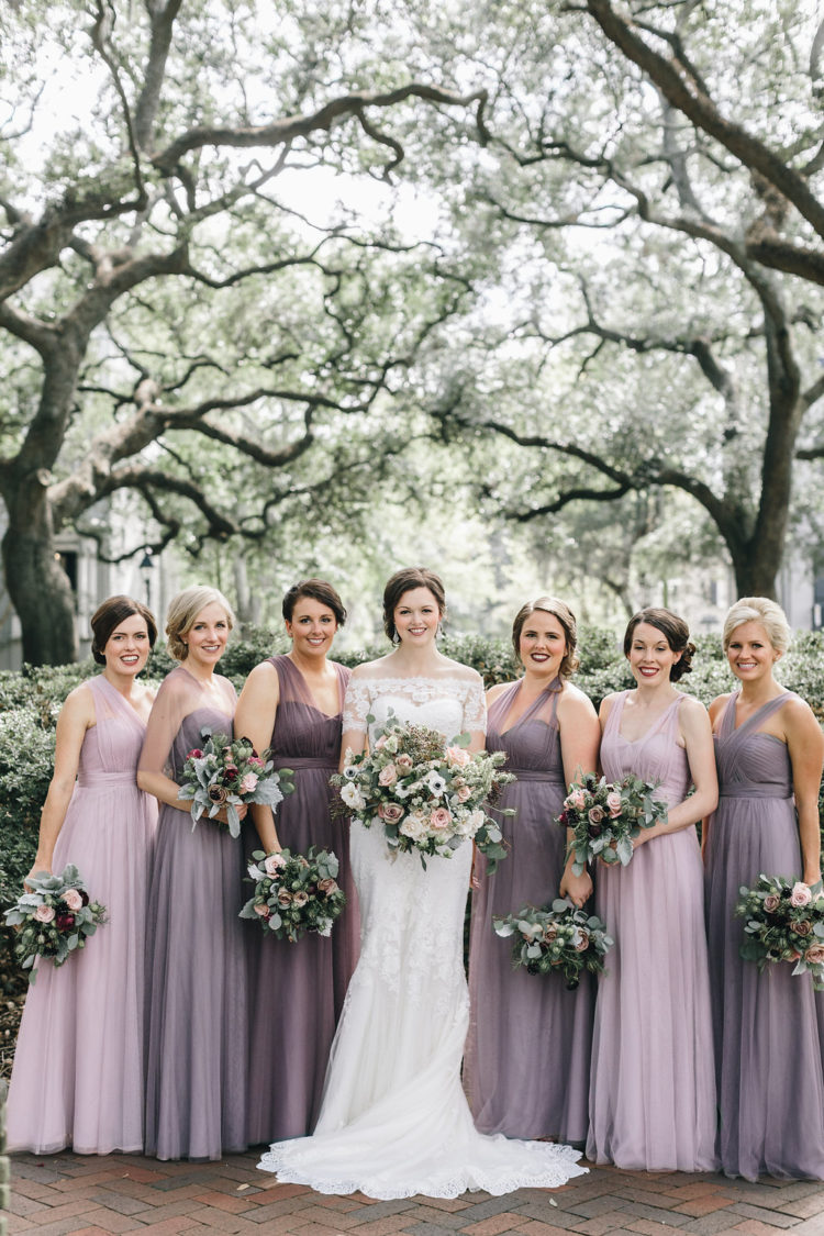 Botanical Inspired Elegant Southern Wedding