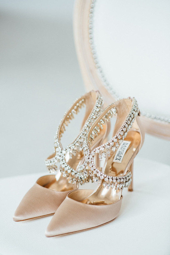 Badgley Mischka Wedding Shoes.Picture Of Gorgeous Badgley Mischka Bridal Shoes With Many