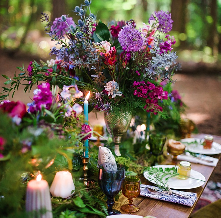 The florals were super bold, textural and boho ones, with a lot of wildflowers