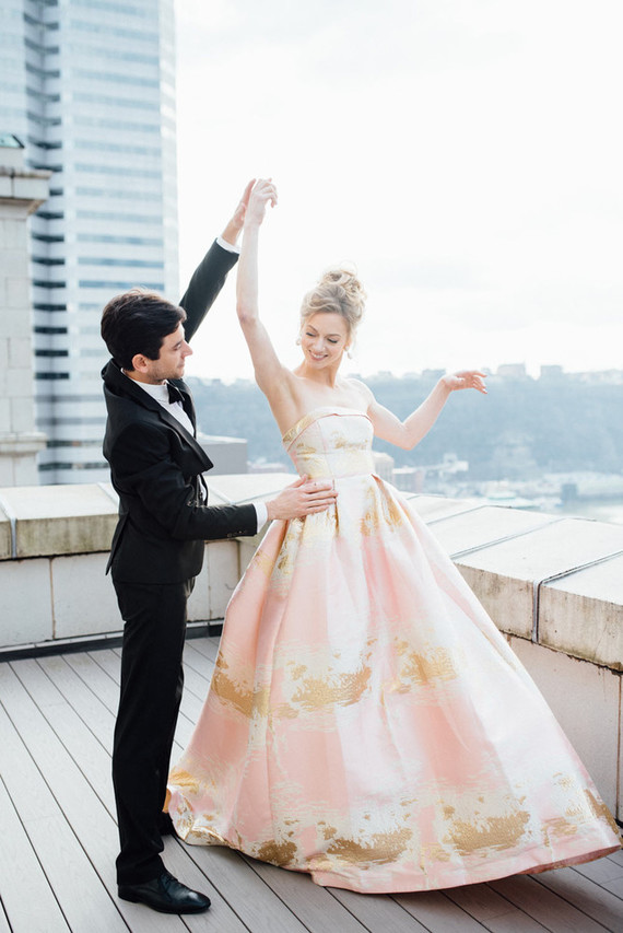 The couple is married in real life and both are professional ballerinas