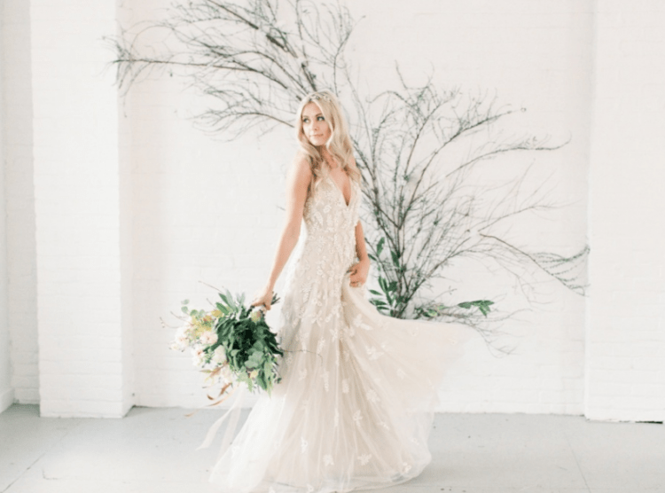The aim of the shoot was to show the beauty of neutrals and softness, that a boho-inspired wedding can take place inside too