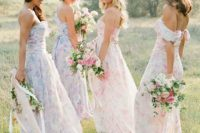 19 florals are always a nice choice for romantic and girlish look