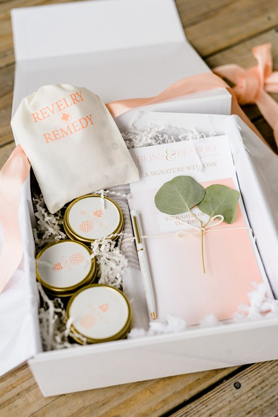 a revelry remedy kit is a essential for a welcome bag to make your guests feel good