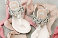 21 gorgeous jeweled flats are perfect for a summer wedding