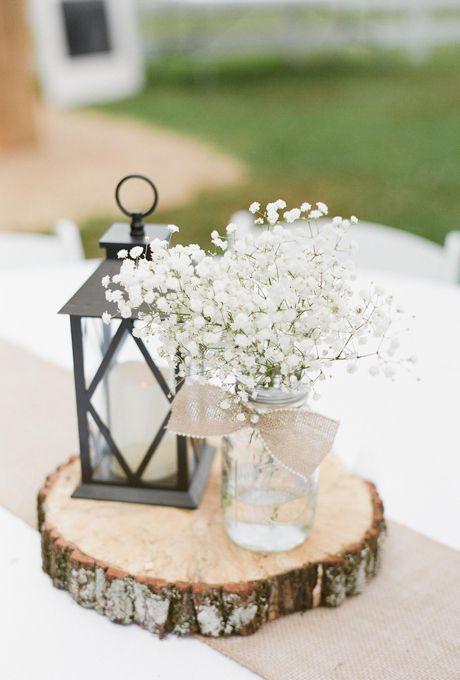 Timelessly elegant baby s breath wedding centerpieces