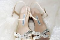 26 sparkling rhinestone wedding sandals in neutral shades