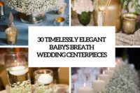 30 timelessly elegant baby's breath wedding centerpeices cover