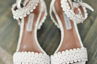 lacey wedding sandals