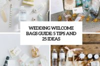wedding welcome bags guide 5 tips and 25 ideas cover