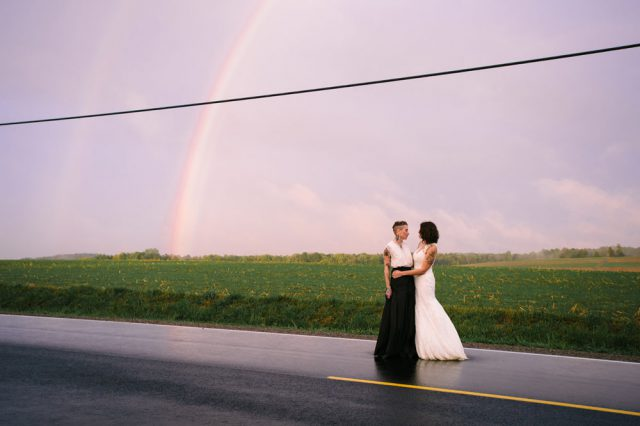 Rainy Rustic Wedding With Lots Of Personal Touches