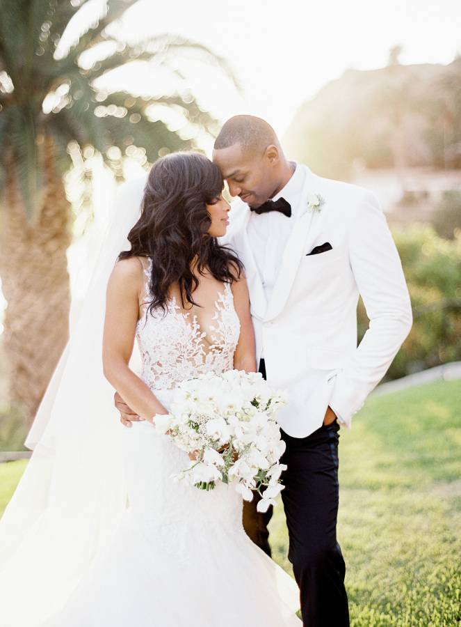 Glam Black Tie Wedding With A Touch Of Gold