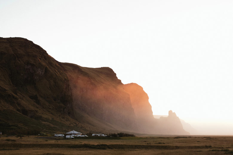 Icelandic landscapes create a gorgeous backdrop for any kind of wedding