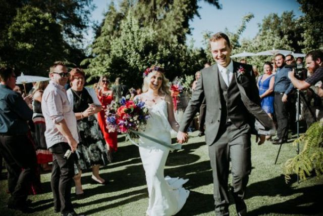 The couple left out some other wedding traditions that they didn't like
