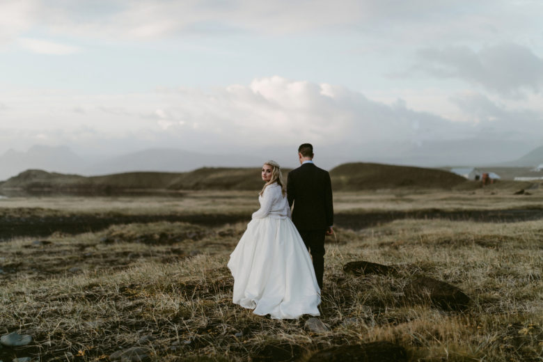 Unique northern landscapes are adorable, Iceland is definitely one of the best places to get married
