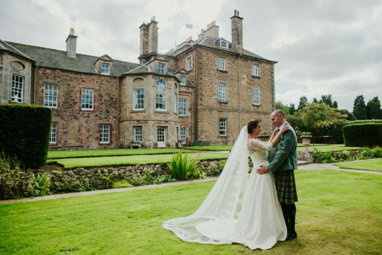 Intimate Scottish Wedding With The Groom In A Kilt
