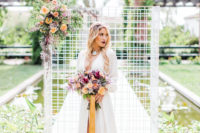 01 This colorful wedding shoot is full of bold details that are worth pinning right now