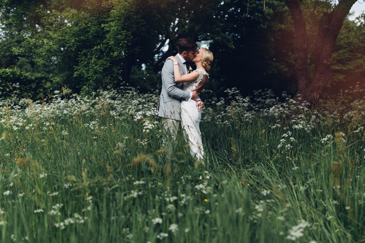 This couple pulled off an elegant wedding with woodland decor and 200 guests, it felt cozy and very special