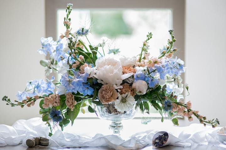 Pastel Boho Wedding Shoot In Soft Shades
