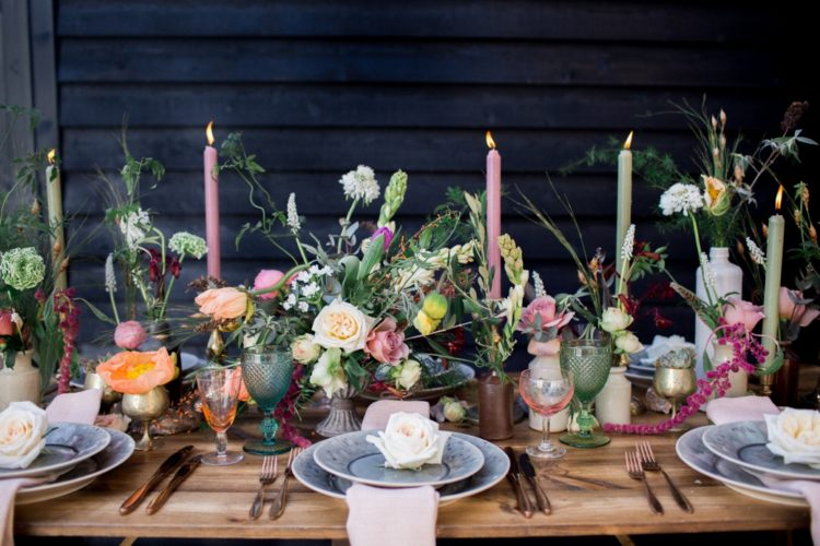 Botanical And Foodie Wedding Shoot With Industrial Details