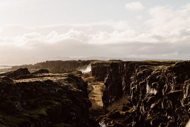 Iceland became a perfect location, and the groom proposed there, so nobody doubted about the place