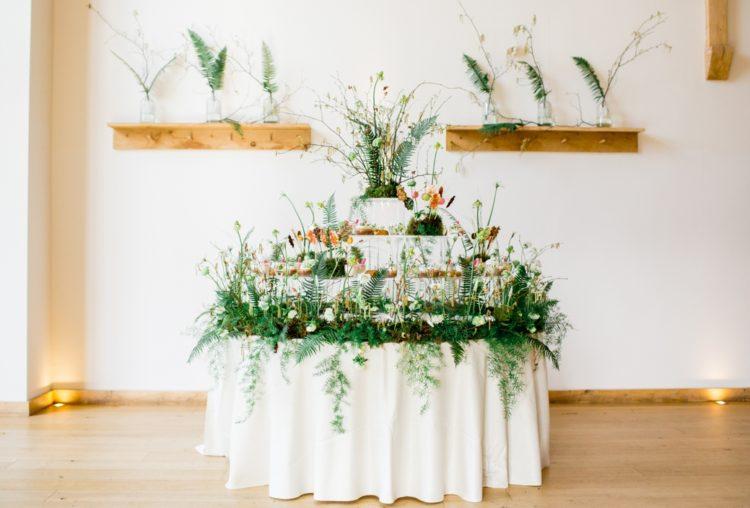 Botanische Und Feinschmecker Wedding Shooting Mit Industrie Details