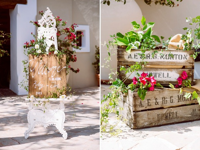 There was much greenery and blooms that made the wedding luxurious and enjoyable