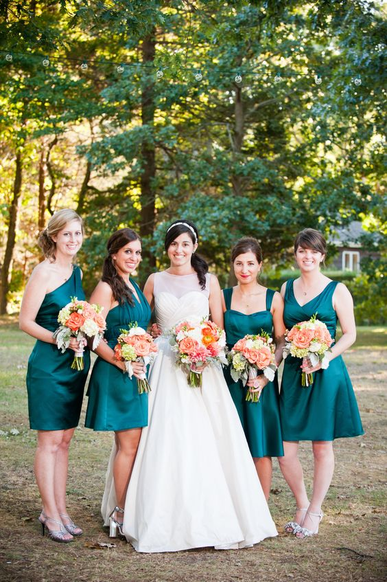 26 Teal And Copper Wedding Ideas To Embrace The Fall Obsigen