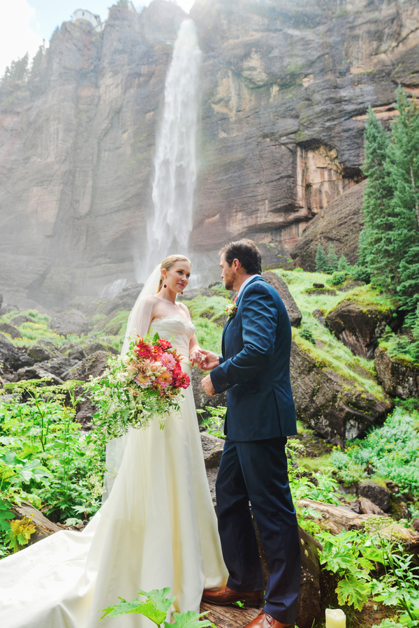 The beauty of the space made the ceremony even more special