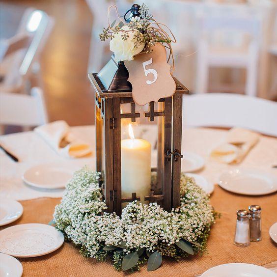 Chic lantern wedding centerpieces you ll like