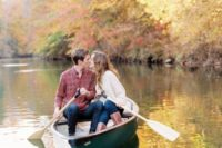 16 go on a boat trip together, and if you are having a lake wedding, it will be a hint