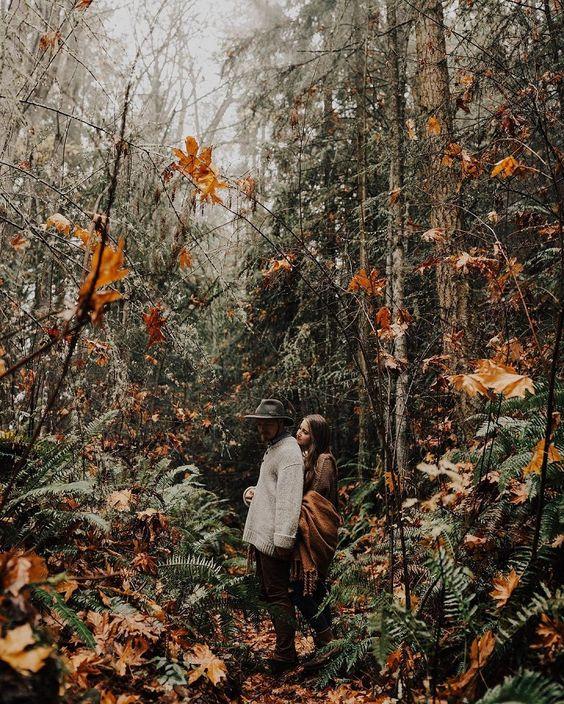 Hinweis auf Ihre boho woodland Hochzeit mit Ihrem engagement Fotos