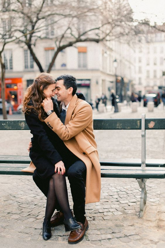 if you two prefer big cities, why not go for a fall engagement in Paris or Rome